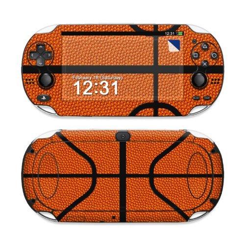Basketball Design Protective Decal Skin Sticker (High Gloss Coating) for Sony Playstation PS Vita Handheld (For Vita Psp Games Basketball)