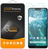 (2 Pack) Supershieldz for Google (Pixel 3 XL) Tempered Glass Screen Protector, 0.33mm, Anti Scratch, Bubble Free
