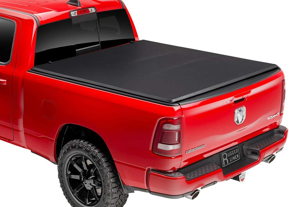 Rugged Liner E3-F5515 Tonneau Cover for Ford F-150 Pickup 5.5 Foot Bed