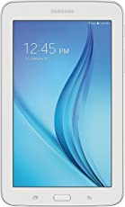 """Samsung Galaxy TabTM E 7 Quad-Core 1.3GHz 1GB 8GB 7"""" Touch Screen Bluetooth Android 4.4 KitKat Color Blanco Reacondicionado (Certified Refurbished)"""