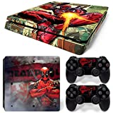 GoldenDeal PS4 Slim Console and DualShock 4 Controller Skin Set – Super Hero – PlayStation 4 Slim Vinyl