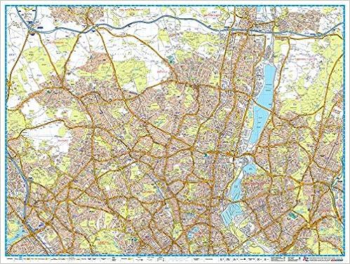 Map Of North London Uk.London Master Map North Amazon Co Uk A Z Maps 9781782571384 Books