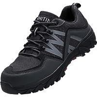 WHITIN Zapatos de Seguridad Hombres Zapatillas de Trabajo