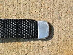 GLI secur-a-pool 25pies x 50pies Rectangular de malla tapa de seguridad sistema, Azul