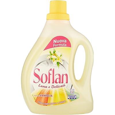 soflan–Detergente Soffio de vainilla, lana y Delicati, Capi como nuevo a largo, 16lavados–1000ml