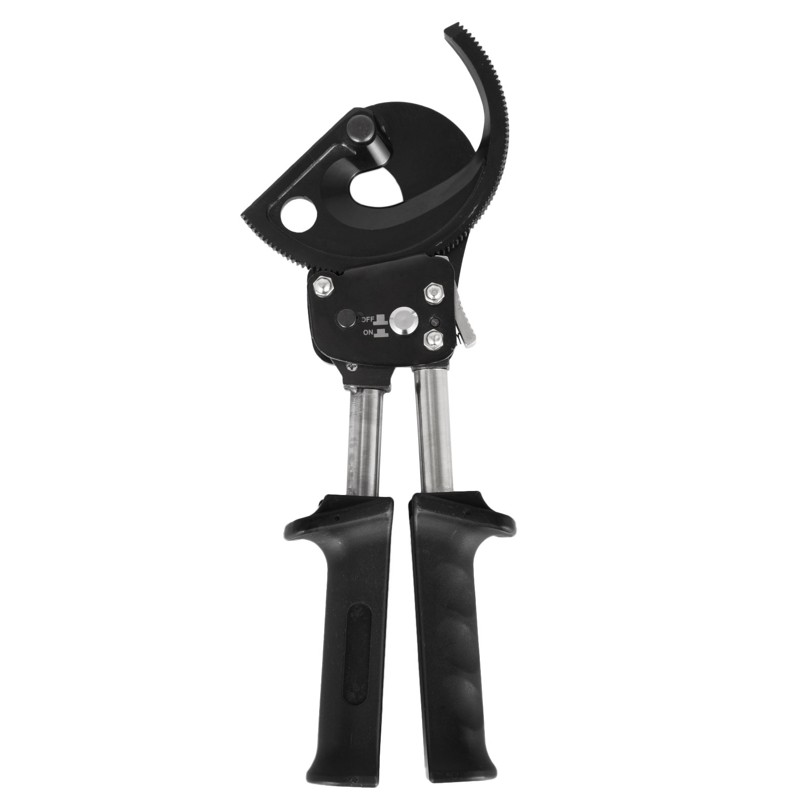 DeEtt Cable Cutter 400mm2 Wire Cutter Ratchet Cable Cutter Mechanical High Carbon Steel For Cutting Copper And Aluminum Cable