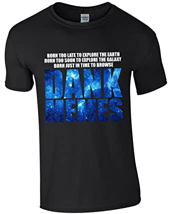 DANK MEMES - Men's Funny T-Shirt: Amazon.co.uk: Clothing