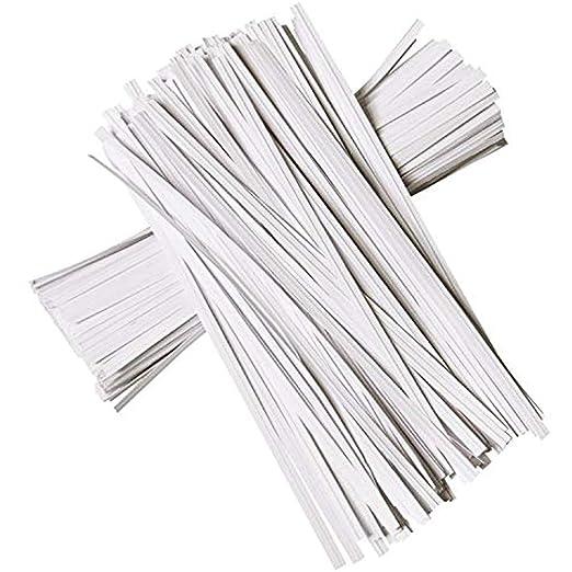 Royal - Corbata de Papel (17, 7 cm), Color Blanco: Amazon.es: Jardín