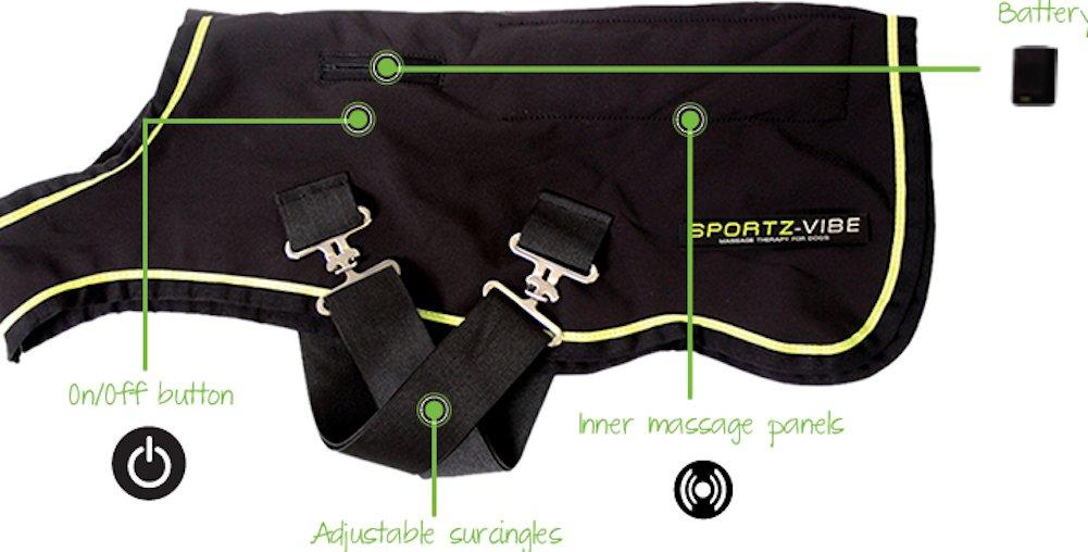 Sportz-Vibe Dog Blanket Medium by HORSEWARE PRODUCTS LTD (Image #3)