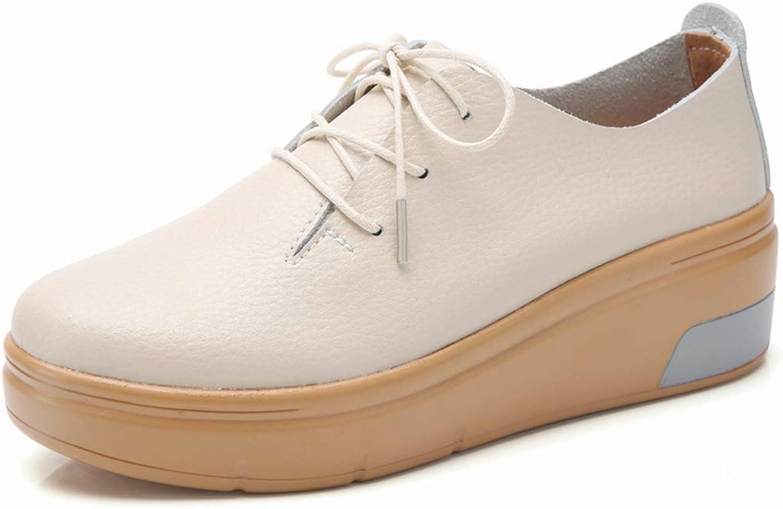 Women Plush Fur Platform Flats Shoes
