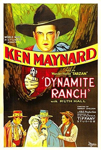 Posterazzi Dynamite Ranch Top: Ken Maynard 1932. Movie Masterprint Poster Print (24 x 36)