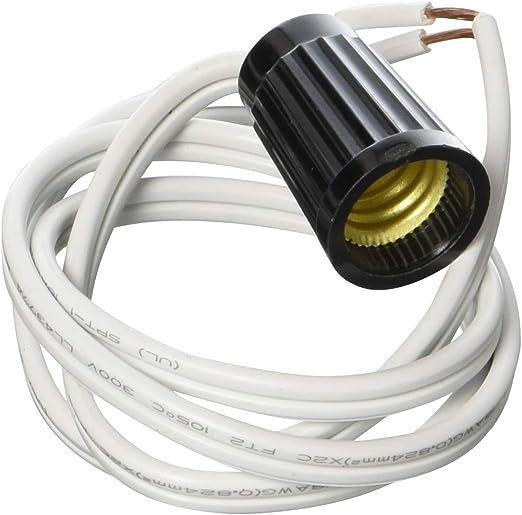 Jandorf Lamp Cord 6 Ft Candelabra White