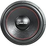 Bass Face spl15.2Caisson 38,1cm Pro Caisson de basses double bobine SPL de compétition