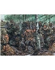 Italeri 6068S  - Segundo Deutsch Guerra Mundial Elite Troops