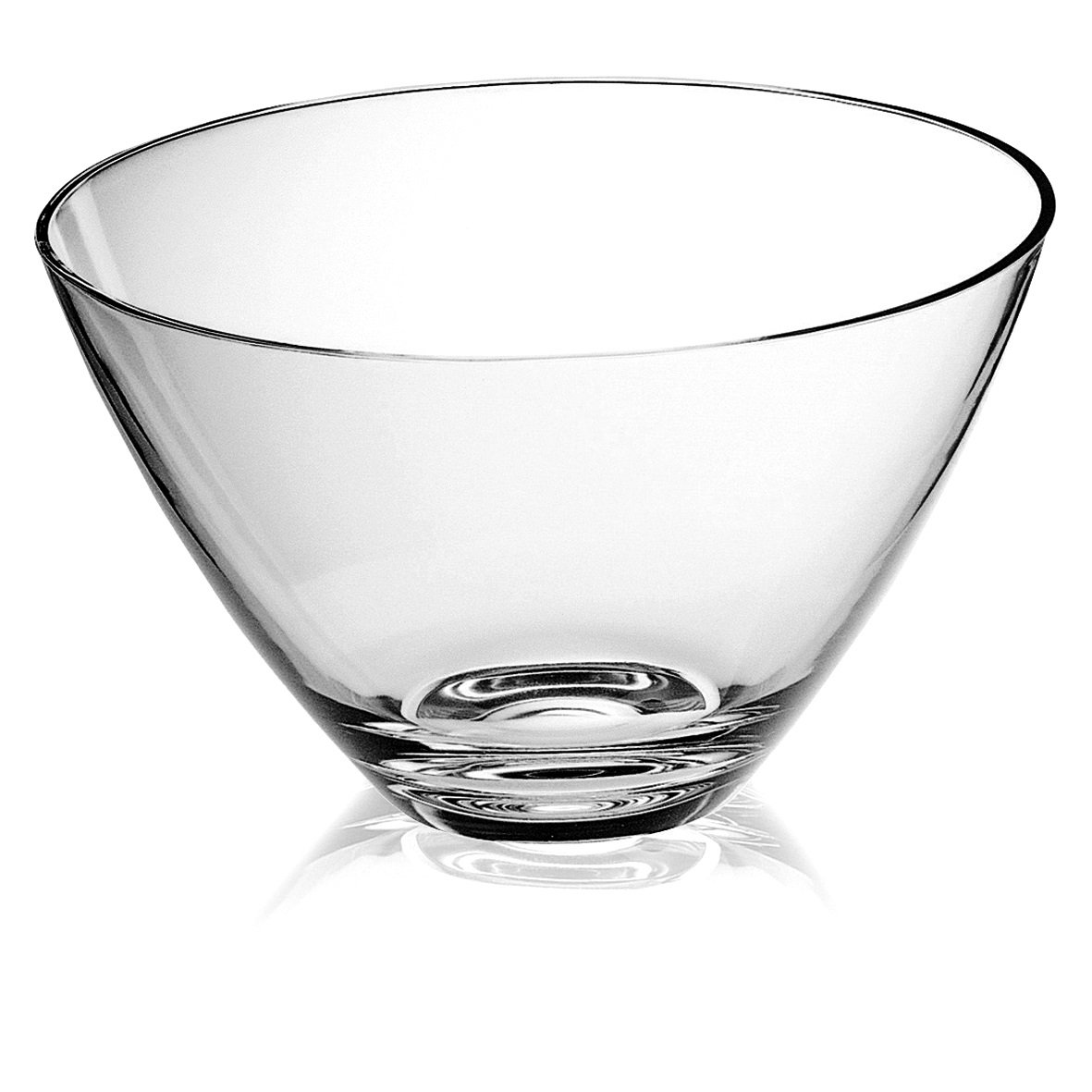 Majestic Gifts European Glass Bowls (Set of 6), 4.75''/Small, Clear