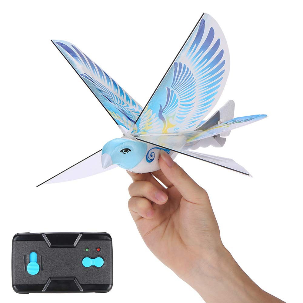 HUAXING RC Drone 2.4GHz RC Bird Remote Control Authentic E-Bird Flying Bird Aircraft Plane RC Toys by HUAXING