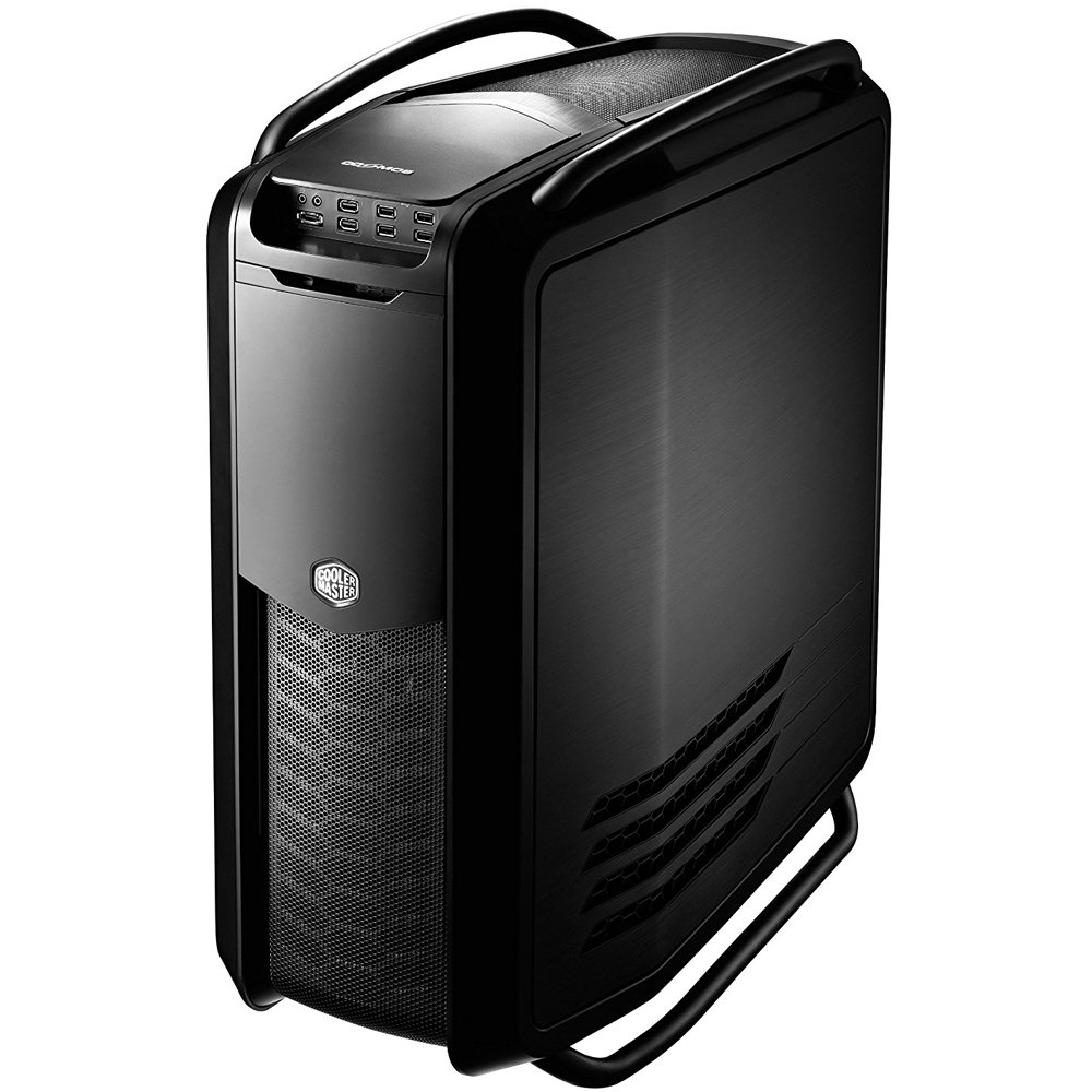 Cooler Master Cosmos Ii Ultra Tower Computer Case With Dual Curved Tempered Glass Side Panel For C700 Aluminum And Steel Body Rc 1200 Kkn1 Computers Accessories