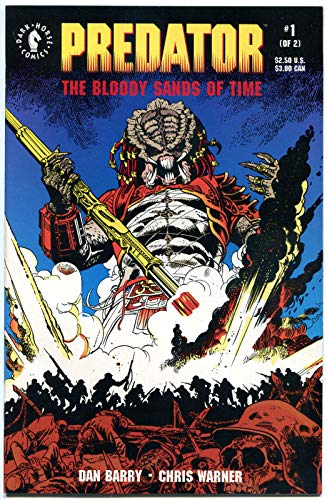 Sand 1992 - PREDATOR BLOODY SANDS of TIME #1 2, NM-, 1992, 1-2, Horror, more in store