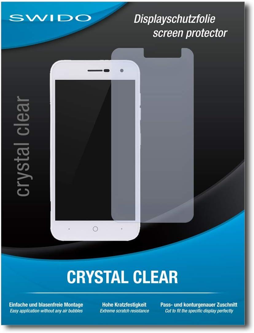 SWIDO® Protector de Pantalla para ZTE Blade L7A [Crystal Clear], [2 Piezas] Transparente, Invisible, Anti-Huella Dactilar: Amazon.es: Electrónica