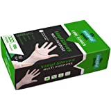 The Essential Goods Disposable Vinyl Gloves | Medium Size | 100 Count | Non Latex Powder Free | Ultra Strong Non Sterile…