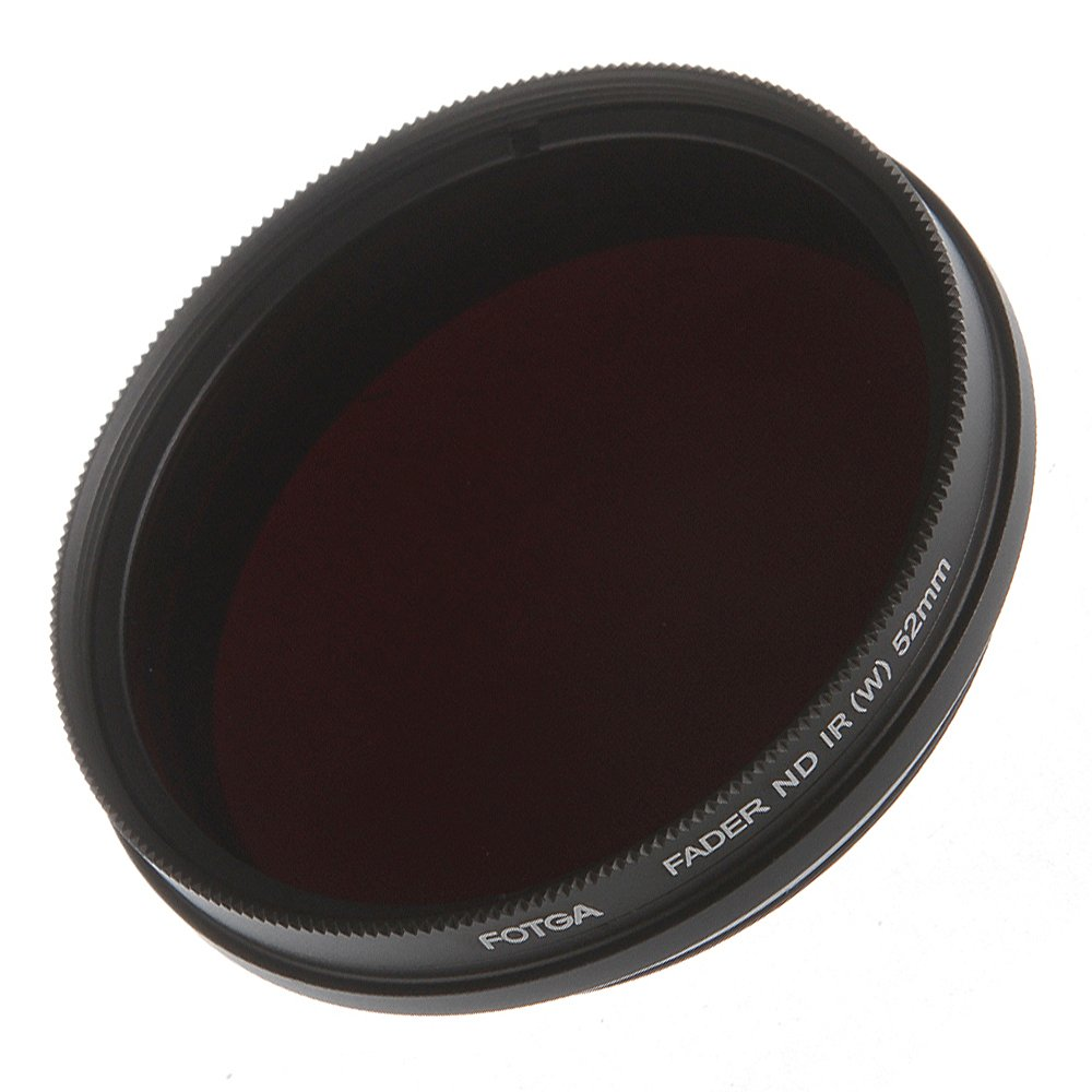 Runshuangyu 55MM Optical Glass Circular Infrared X-Ray Adjustable IR Pass Filter, Variable from 530nm to 750nm 590nm 680nm 720nm for DSLR Camera Photography by Run Shuangyu