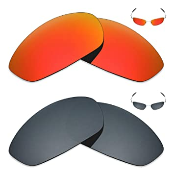 45e198b1325a Mryok 2 Pair Polarized Replacement Lenses for Oakley Whisker Sunglass -  Options