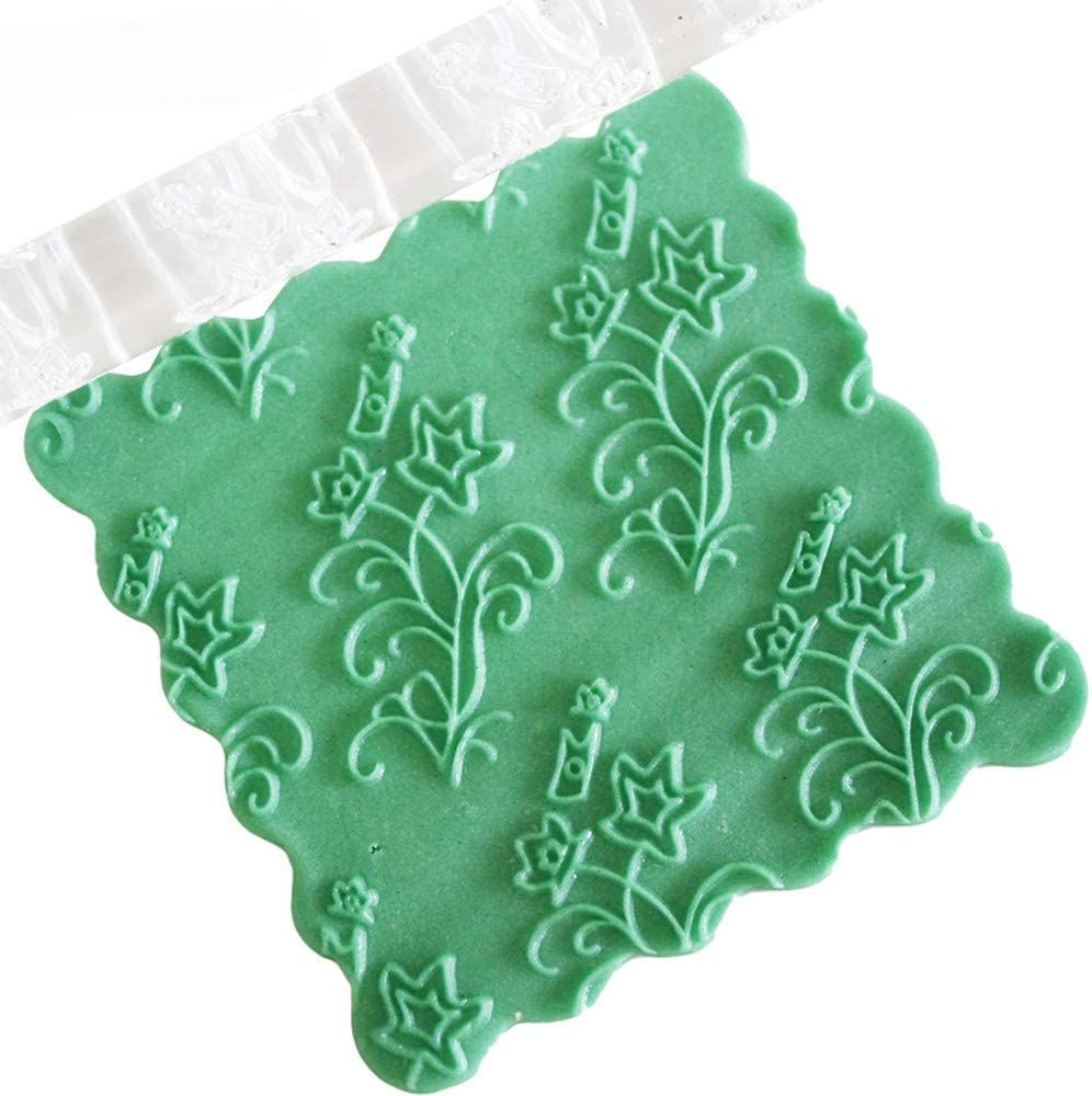 Transparent Acrylic Rolling Pins Pie Crust Cookie /& Pastry Dough Best for Fondant AGUIguo Rolling Pin for Baking