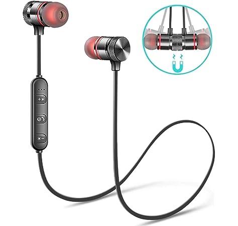 Luzwe Bluetooth Earphone Wireless Headphones Sports Amazon In Electronics
