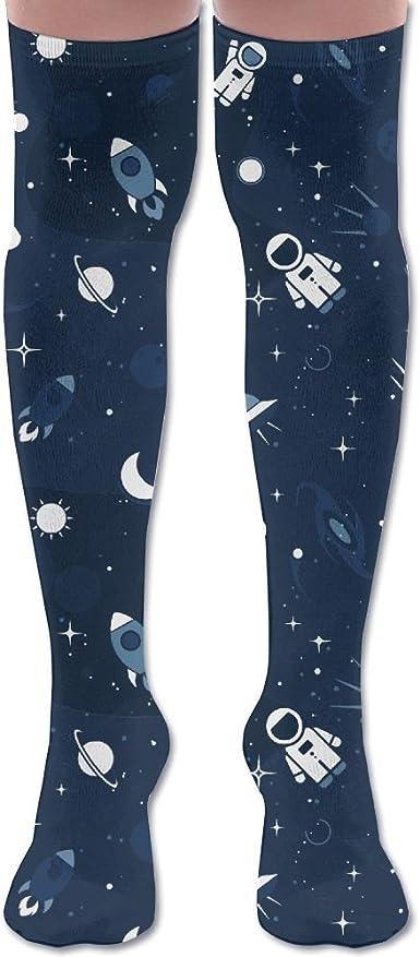 Shadidi Mens Stars Spaceship Classic Tie Necktie