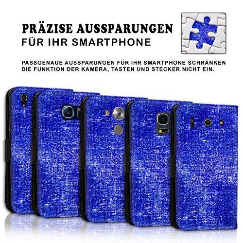 Wallet Book Style Flip Handy Tasche Case Schutz Hülle Schale Motiv Etui für Apple iPhone 6 / 6S - Design Flip MVD271