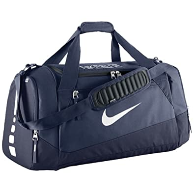 brand new 5713c 7ea19 Nike Hoops Elite Max Air Team Duffel Bag Navy BA4881-441 Amazon.co.uk  Clothing