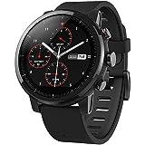 Amazfit Stratos 2 Xiaomi Smartwatch Activity Tracker Pedometri Cardiofrequenzimetro GPS Bluetooth Nuoto Impermeabile Versione internazionale Nero
