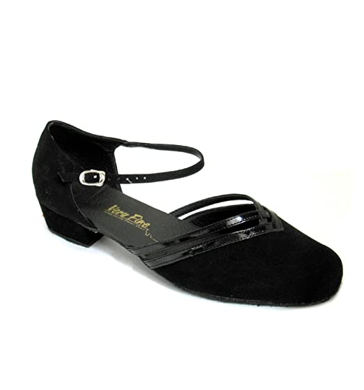 Swing Dance Shoes- Vintage, Lindy Hop, Tap, Ballroom Ladies Practice/Cuban- Classic Ballroom Shoes8881 $60.00 AT vintagedancer.com