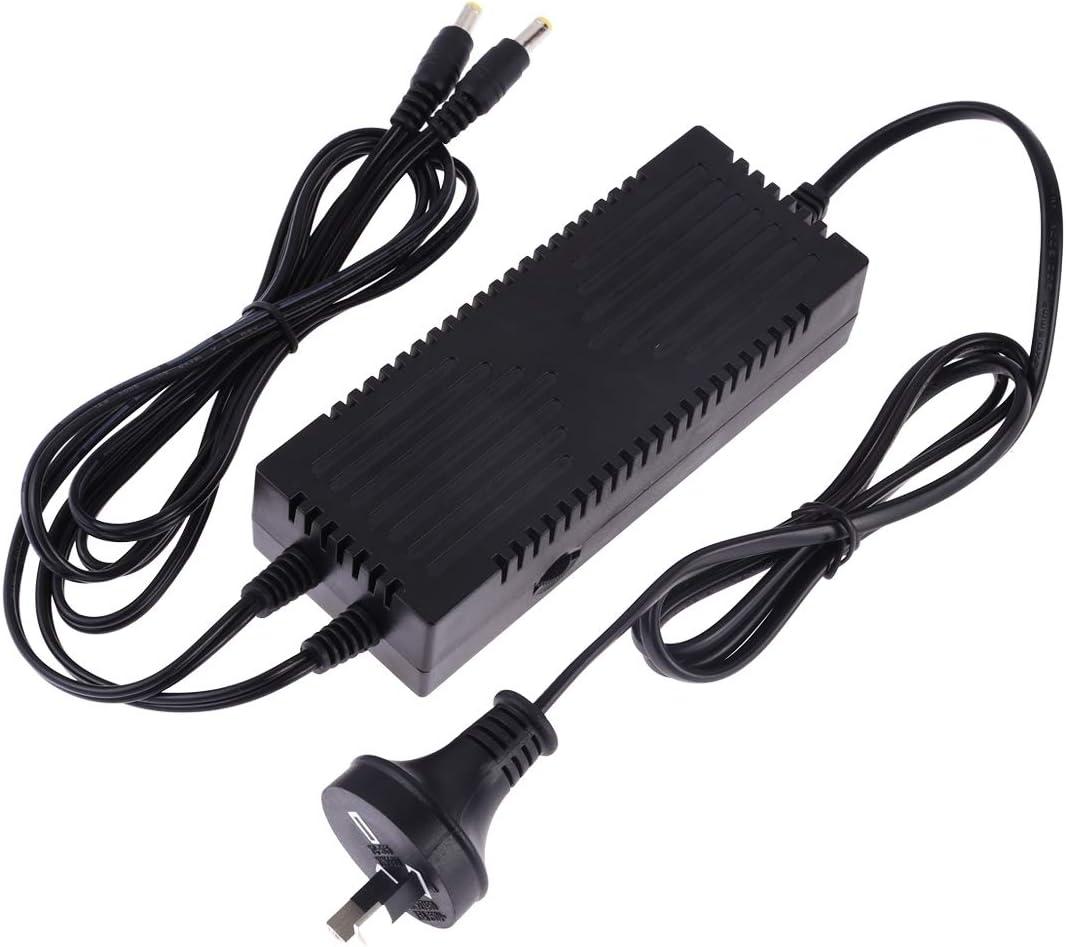 Color : AU Plug AU Plug XIAOMIN Constant Current LED Power Supply Power Adapter for 80cm Studio Tent AC 100-250V to DC 18V 3A Premium Material