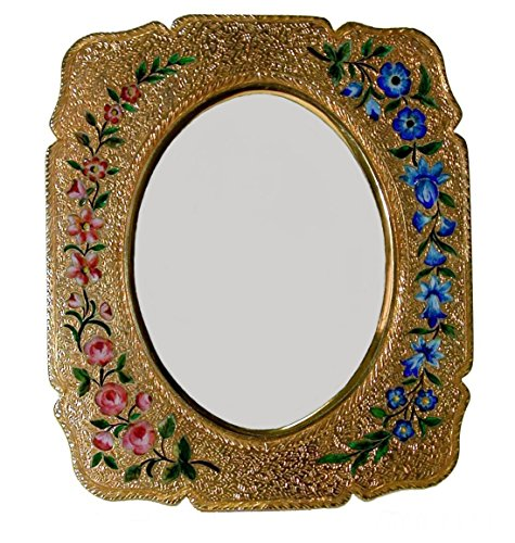 Photo frame in silver with enamels  hand made by Salimbeni - Collectible objet dart