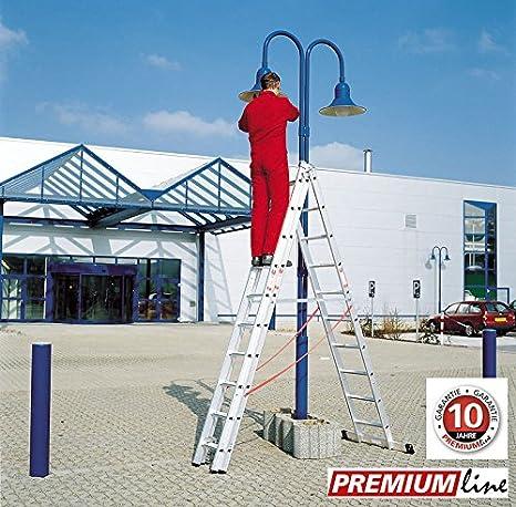 Euroline Alu Kombi Leiter 3tlg Premium 6,35 Meter