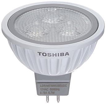 Toshiba LDRA0730WU5EUDC - Foco LED con atenuación (GU5,3, 6,7 W