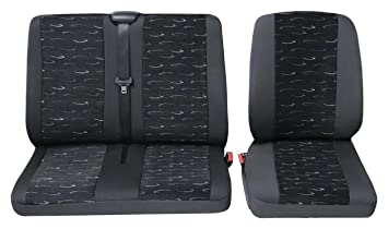 Nissan Primastar BUS Front Universal Sitzbezüge Sitzbezug Schonbezüge Autositz