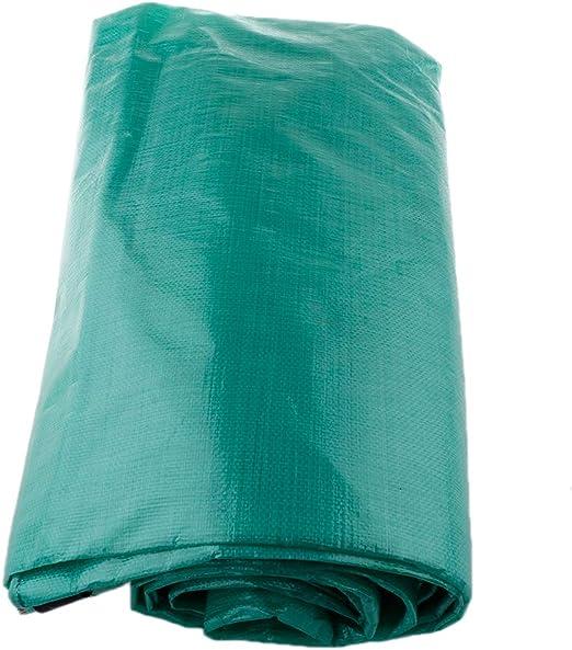 H HILABEE Carpa Carpa Cubierta Lona PE Lona Impermeable Cubiertas para La Lluvia Caída De Telas - Verde 2x3m: Amazon.es: Jardín