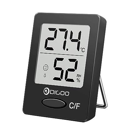 DIGOO DG-TH 1130 Termómetro Digital para Interiores Higrómetro, medidor de Humedad y Temperatura