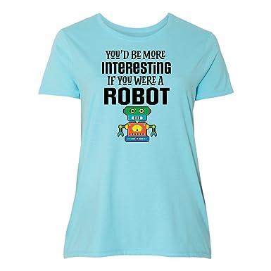 Amazon Com Inktastic Robotics Club Funny Robot Joke Women S Plus