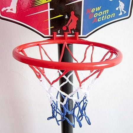 Tellaboull Regalo de los niños Soporte de Baloncesto Ajustable ...