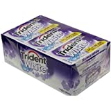 Trident White Cool Rush - 9 Packs of 16 Pieces
