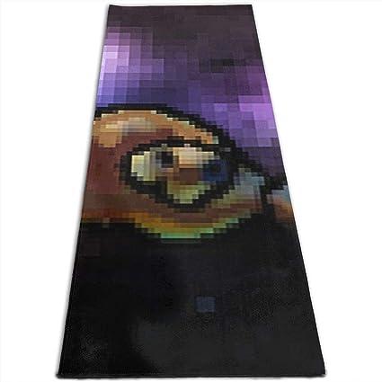 Amazon.com: Ngem Toalla de yoga extra gruesa Astro Turtle ...