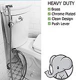 Bumworks Cloth Diaper Toilet Sprayer Kit - Brass