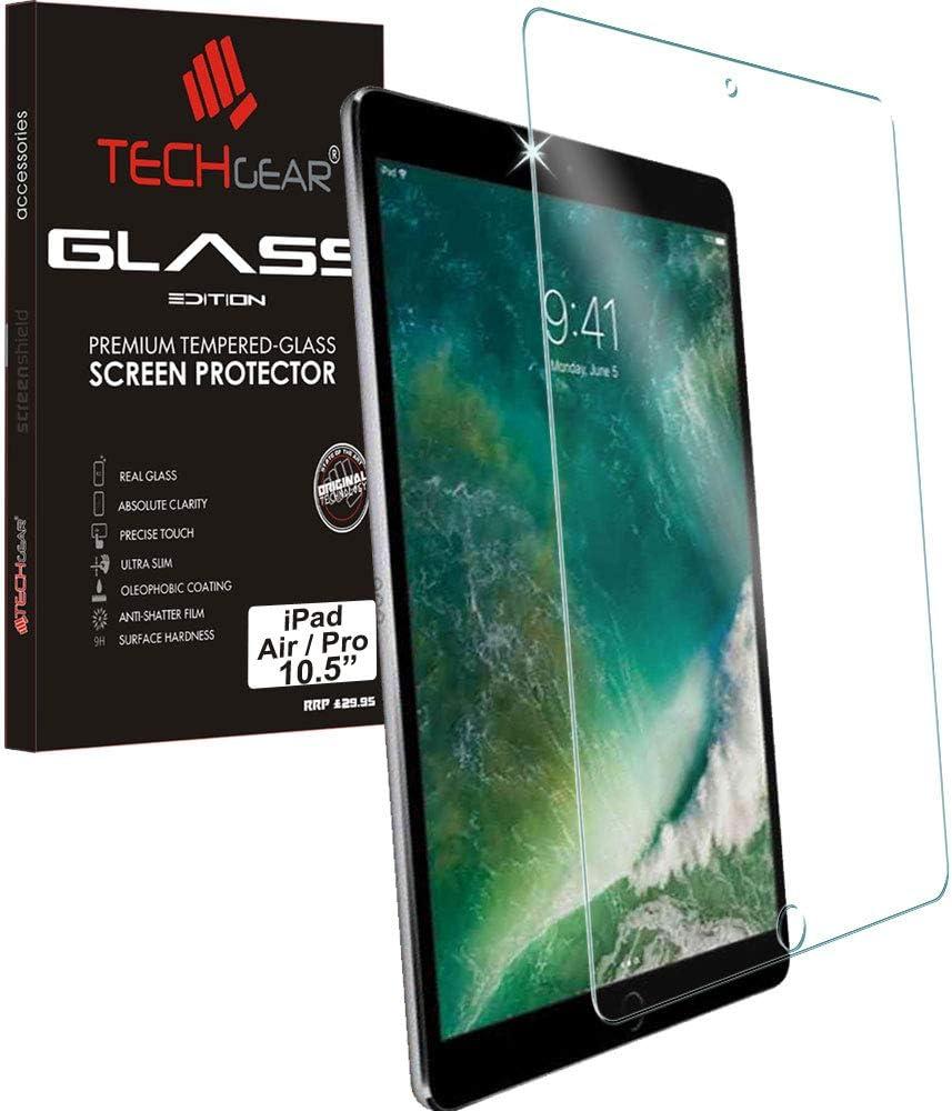 10,5 TECHGEAR Panzerglas f/ür iPad Air 10,5 Zoll Air 3, 2019 Panzerglasfolie Anti-Kratzer Schutzabdeckung kompatibel mit iPad Pro 10,5 // iPad Air 2019 iPad Pro 10,5 Zoll