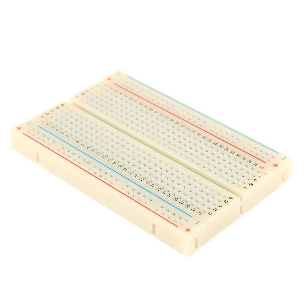 3pcs Mini Solderless Breadboard400 Ties Clear Circuit Pcb Board Kit Raspberry Pi Breadboard Prototype For Proto Shield Circboard Prototyping 5f 33xy H4oi Boards Industrial