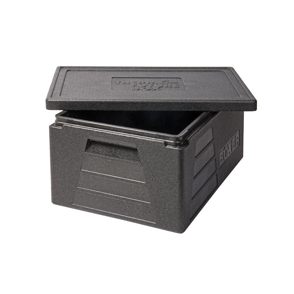 Thermo Future Box Boxer GN 1/1per trasporti e isolante Box, Epp (expandiertes polipropilene), Nero, 60x 40x 29cm Barth 10383