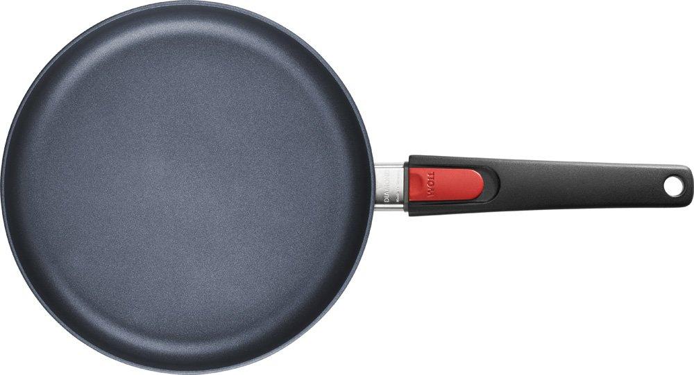 Woll 1524 dpi Diamond Lite sartén de Hierro Fundido de inducción, diámetro 24 cm, 5 cm de Alto con Mango extraíble: Woll: Amazon.es: Hogar