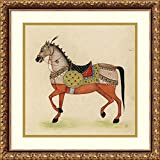 Framed Art Print 'Horse from India I' by Illuminations